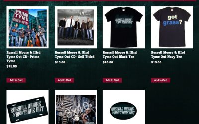 New T-Shirts, Photos, and More Available Now!