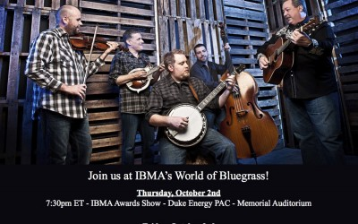 Russell Moore & IIIrd Tyme Out at IBMA's World of Bluegrass!