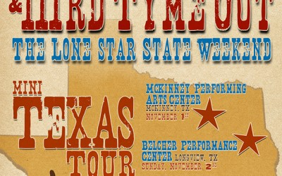 Texas Mini-Tour This Weekend!
