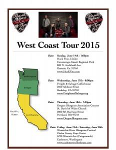 West Coast Tour 2015