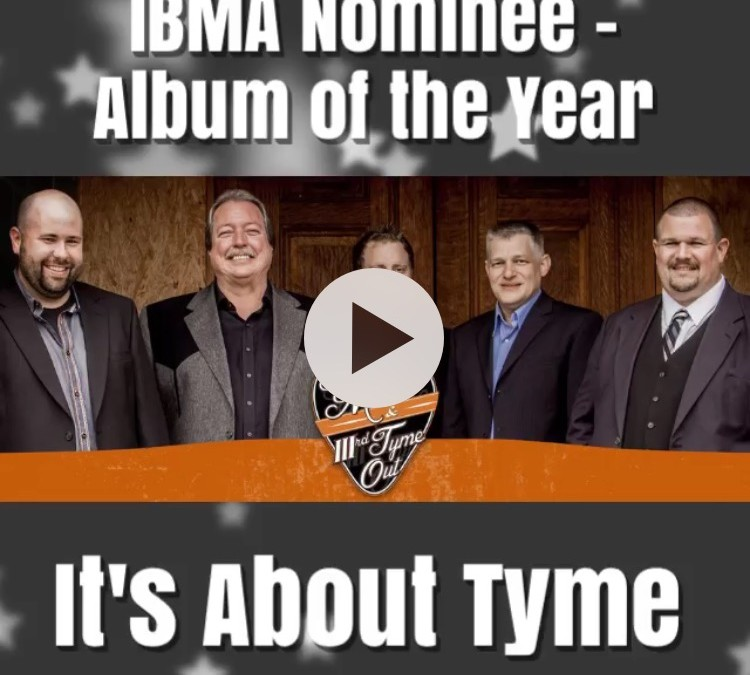 IBMA Nomination – Album of the Year!