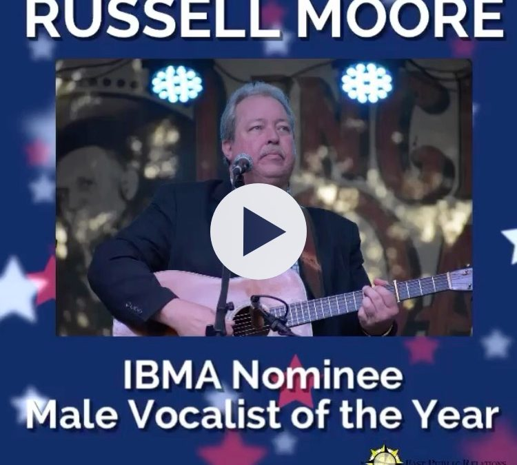 Russell Moore Receives 2017 IBMA Award Nomination!
